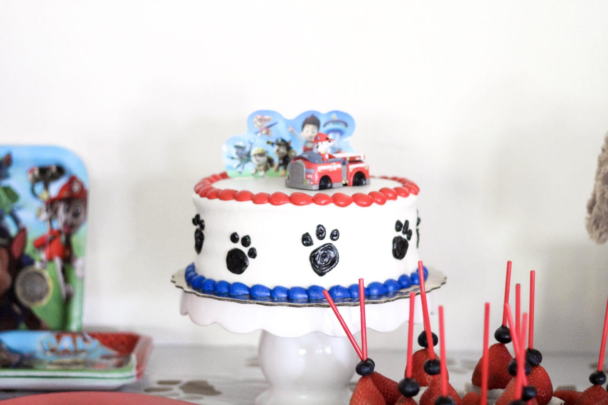 Paw Patrol Birthday Cake Walmart